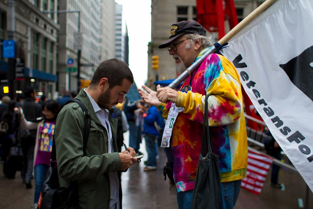 Occupy Wall Street, New York City
