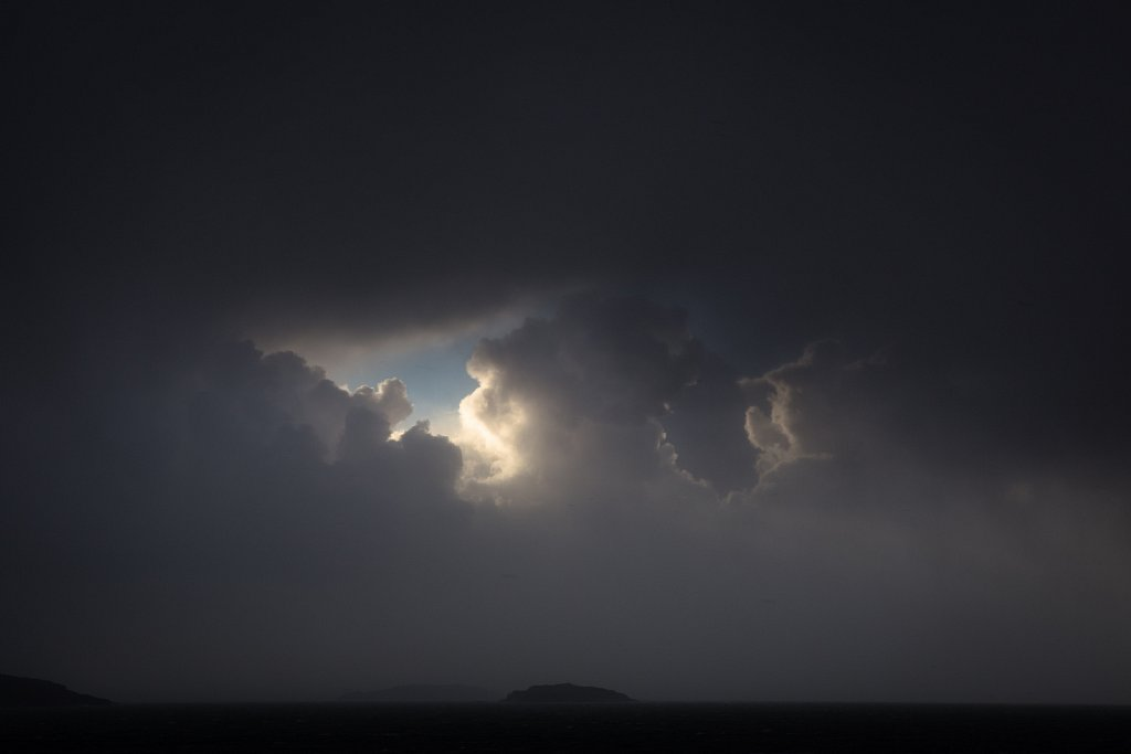 Storm Clouds, Inner Hebrides